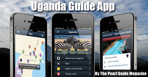 The Pearl Guide releases Uganda's first destination guide app, the Uganda Guide App!