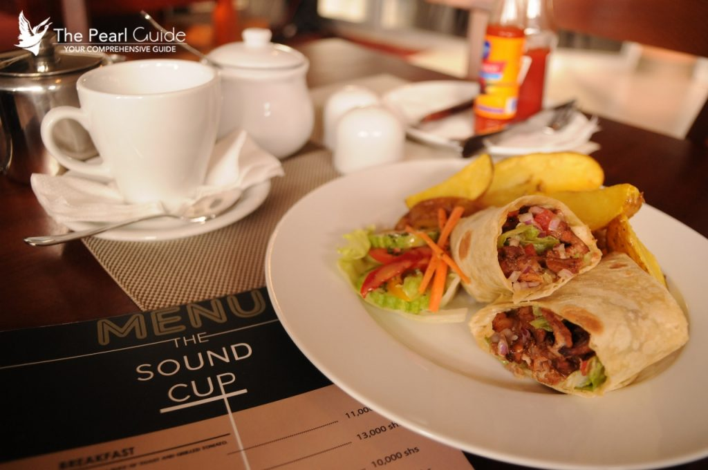 Good food at the Sound Cup