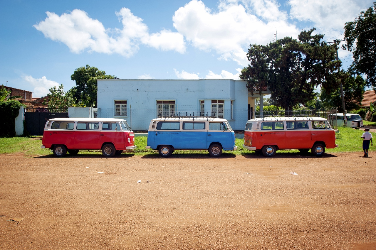 The Fleet at Kombi Uganda