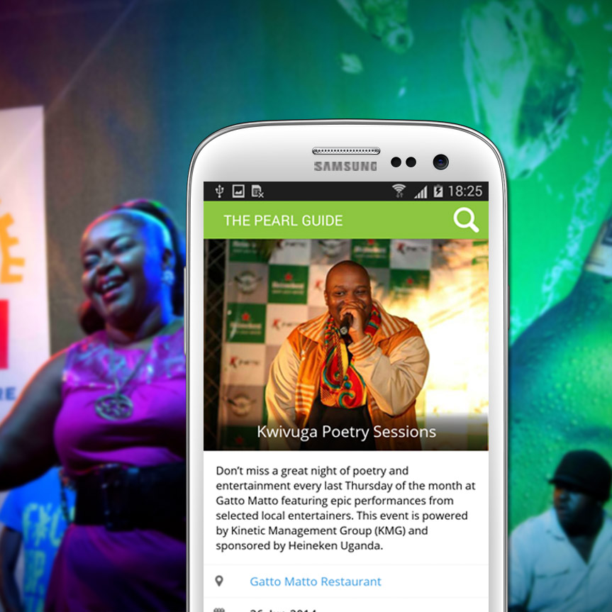 The Pearl Guide Mobile App releases Events Ticket Purchasing Feature