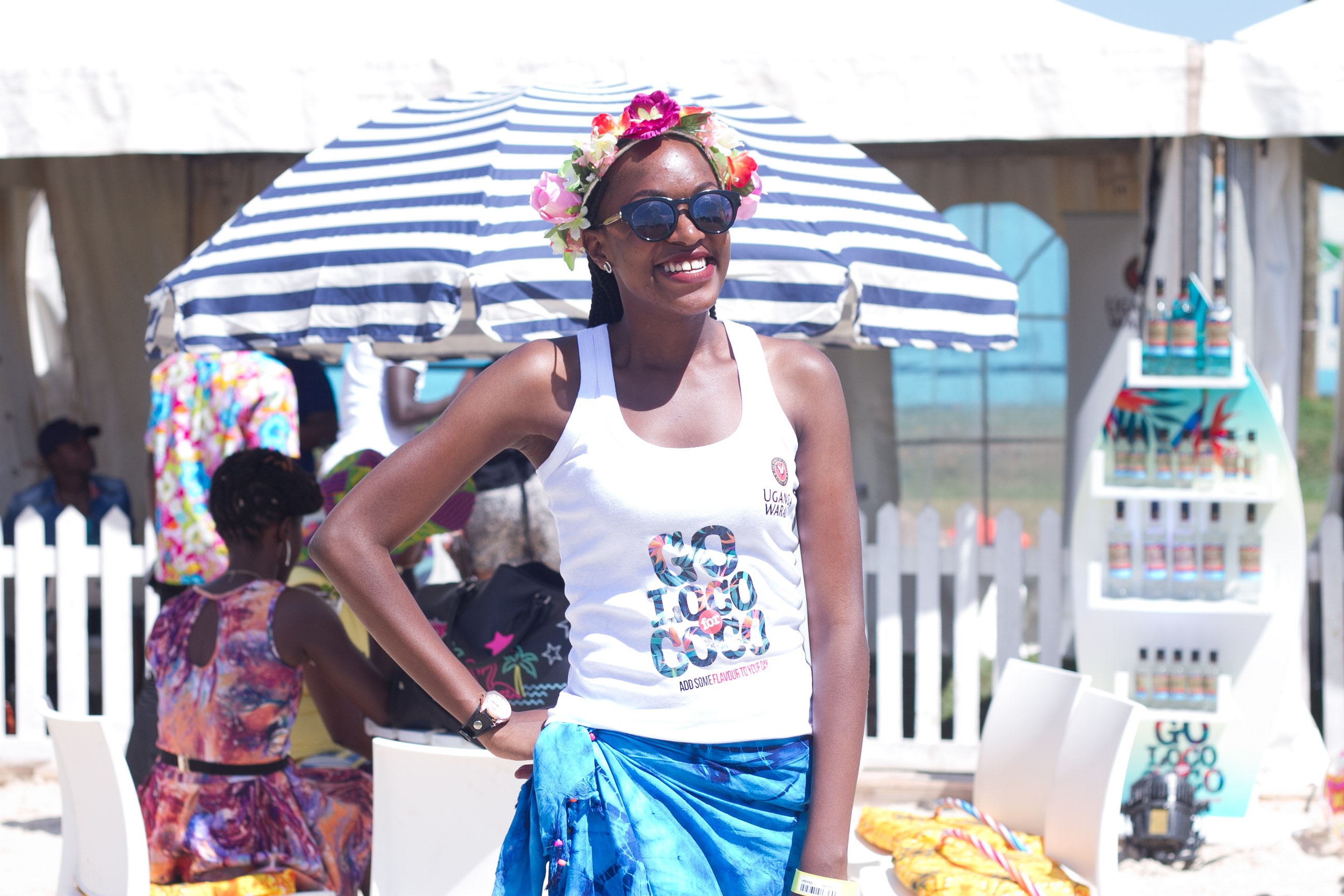 Ugandans Go Loco for Coco at Blankets and Wine