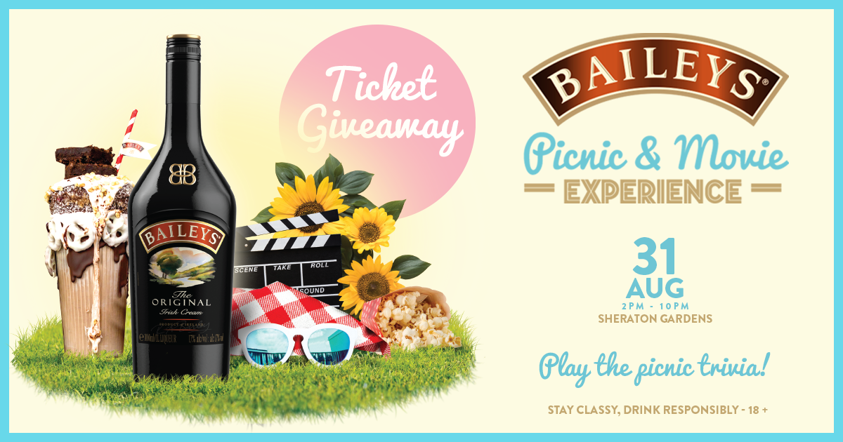 Contest: Win Tickets to Baileys Picnic Movie August 2019!